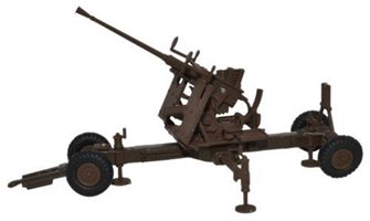 Oxford Diecast 76BF001 Bofors Gun 40mm Brown