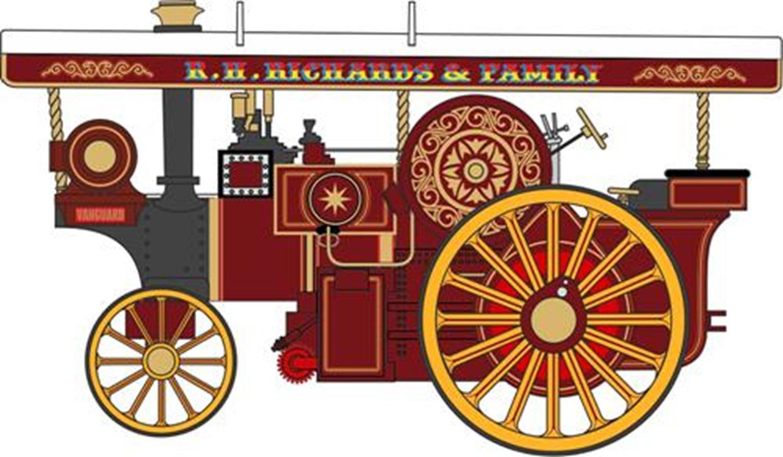 Burrell 8nhp DCC Showmans Locomotive No 2342 Vanguard
