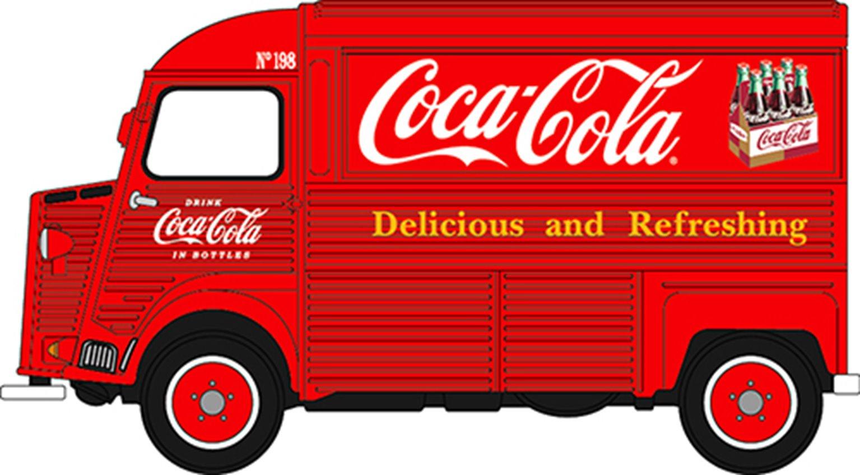 Citroen H Type Van Coca Cola