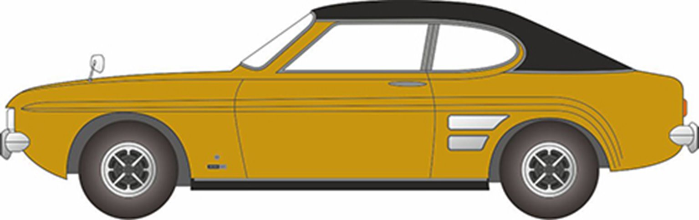 76CP001 Ford Capri Mk1 Maize Yellow