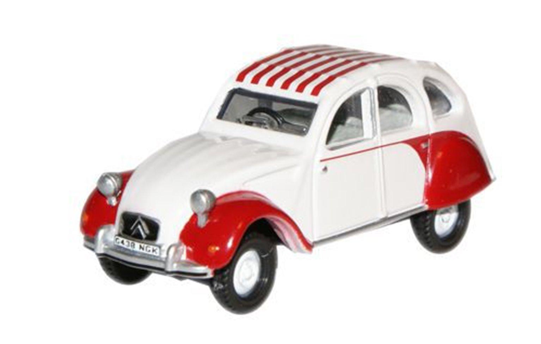 Dolly Red White Citroen 2CV
