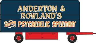 76DTR002 Showground Dodgem Trailer Anderton & Rowlands