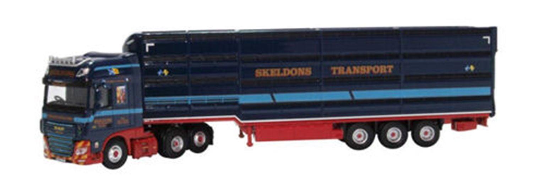 DAF XF Euro 6 Livestock Transporter Skeldons