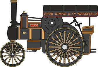 76FOW004 Fowler B6 Road Locomotive Titan Spur Inman & Co. Wakefield