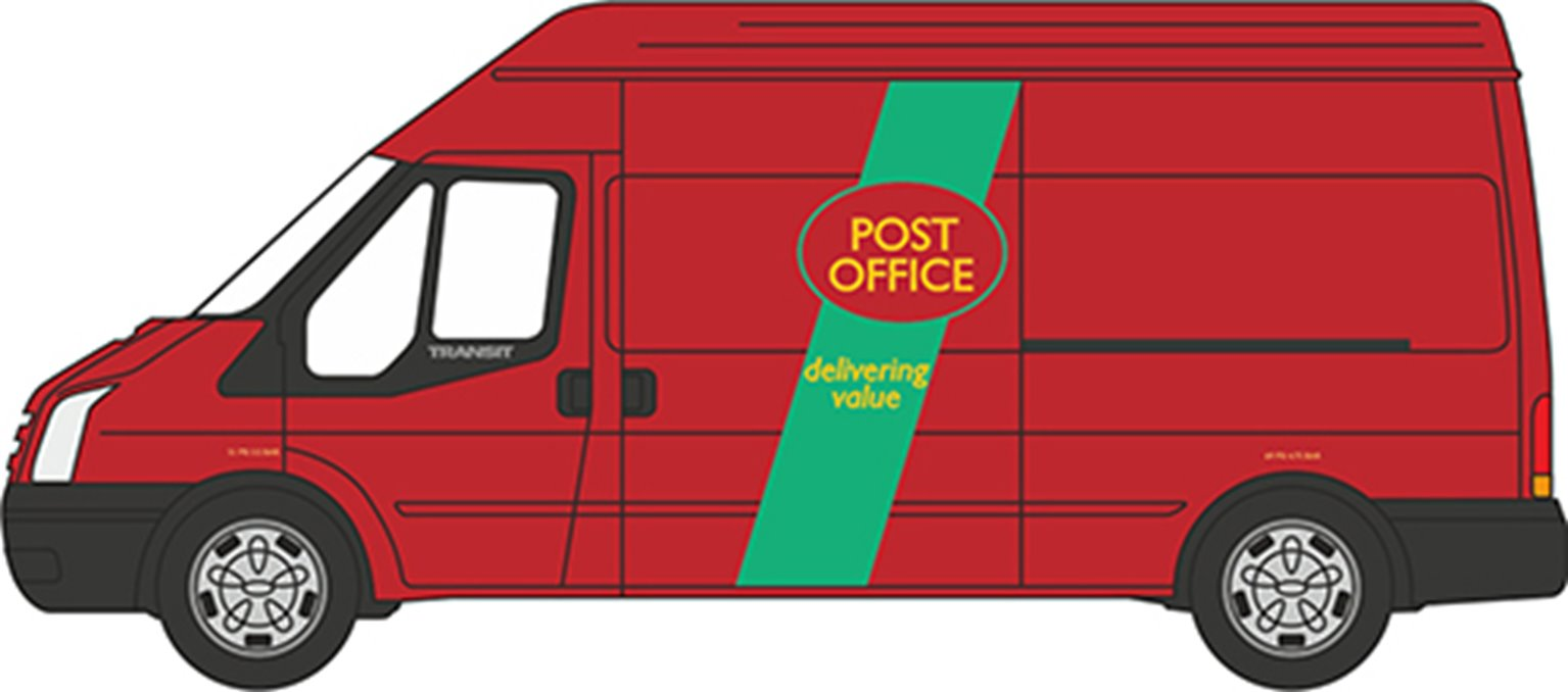 76FT032 Ford Transit Mk5 Post Office