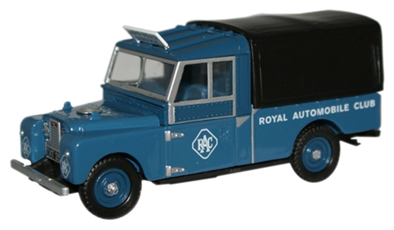 """RAC Land Rover 109"""" Canvas"""