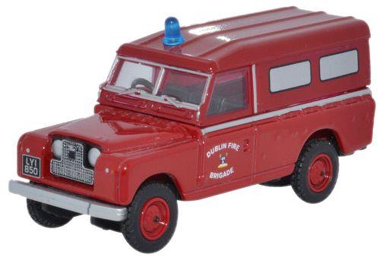 Land Rover Series II Dublin Fire Brigade