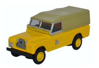 Land Rover Series II LWB Canvas JCB