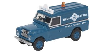 Land Rover Series II LWB Hard Top RAC Radio Patrol