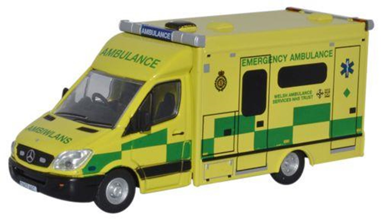 Mercedes Benz Sprinter 515 CDi Modern Welsh Ambulance
