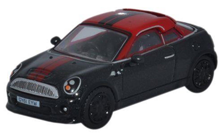 BMW Mini in Midnight black & red