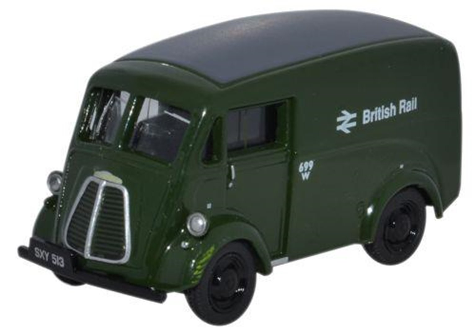 Morris J Van British Rail