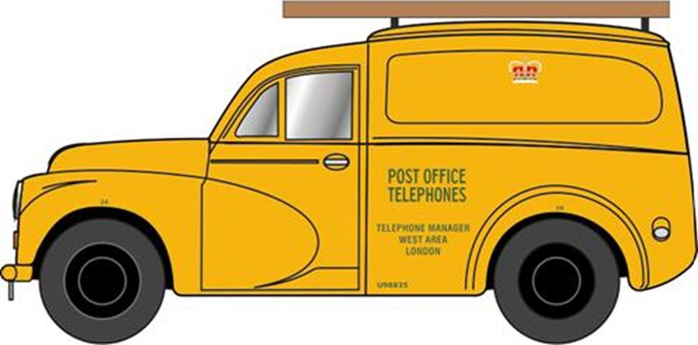 Morris 1000 Post Office Telephones Yellow