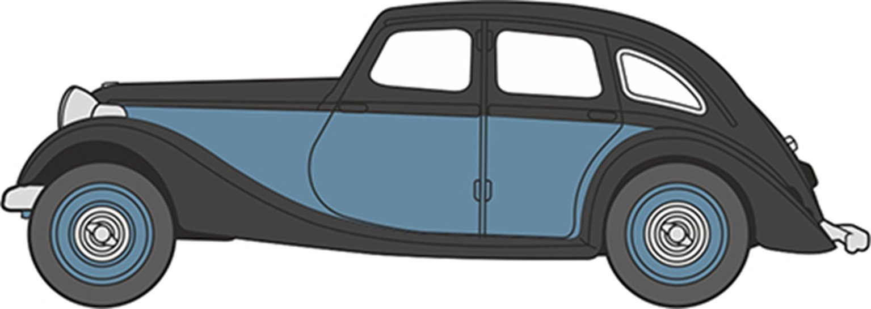 76RK005 Riley Kestrel Blue/Black