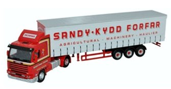 Scania 143 Short Curtainside Sandy Kydd