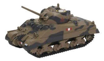 Sherman Tank MK III Royal Scots Greys Italy 1943
