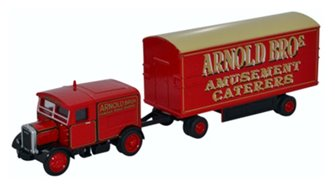 Scammell Showtrac & Dodgem Trailer Arnold Bros