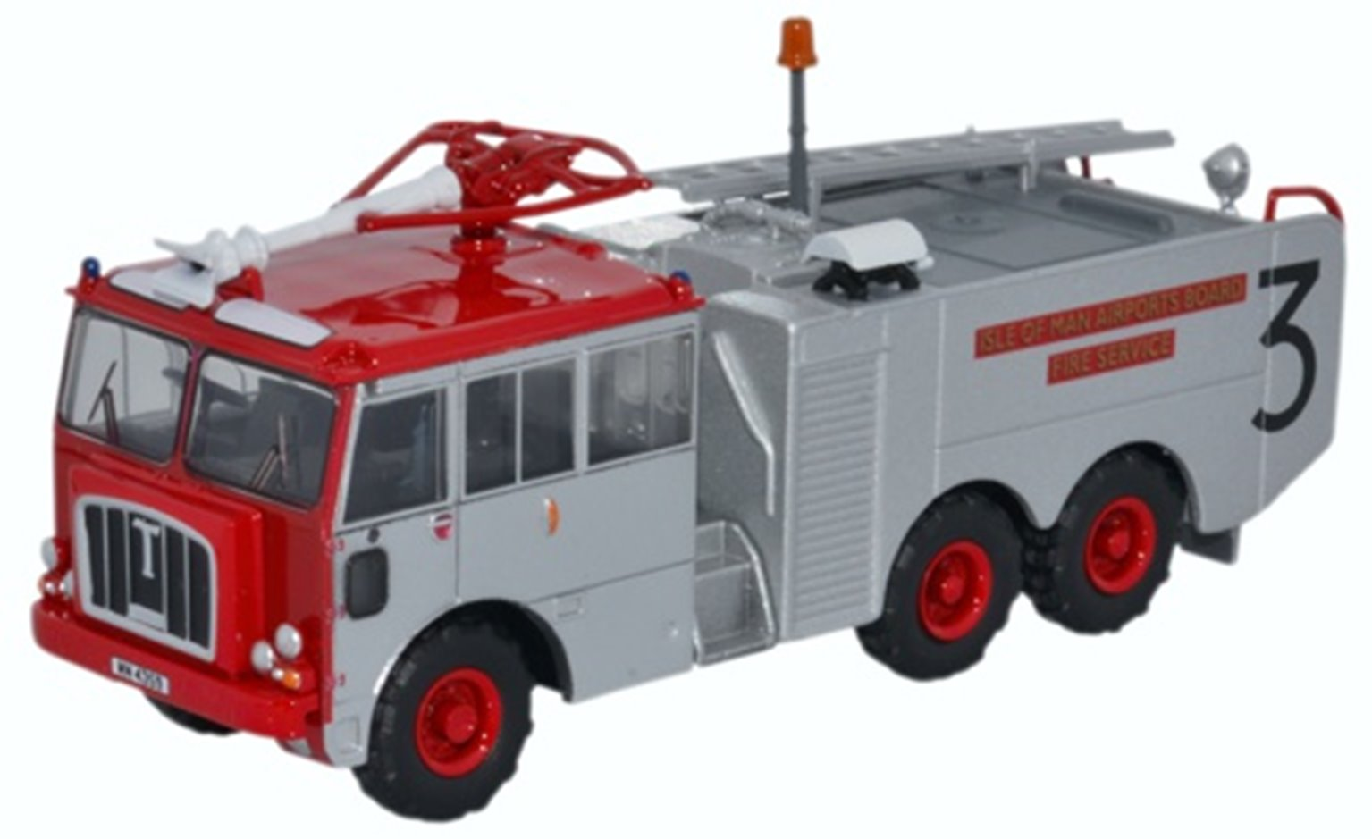 76TN004 Thornycroft Nubian Isle of Man Airports Board Fire Service