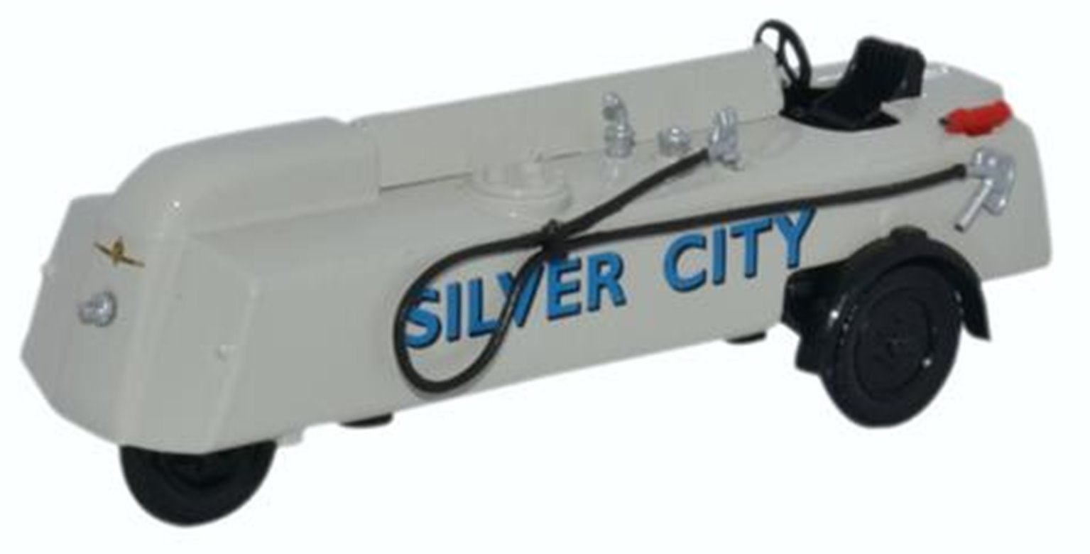 Oxford Diecast 76TRF004 Thompson Refueller Silver City