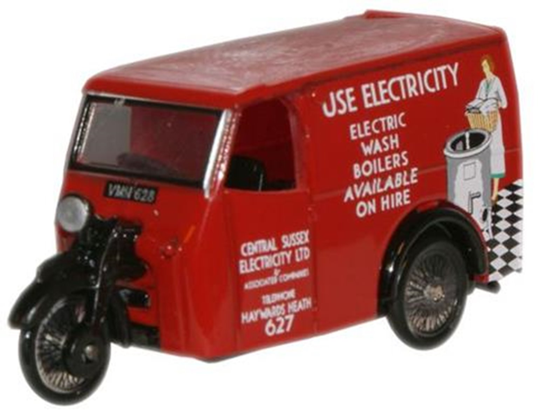 Tricycle Van Electricity