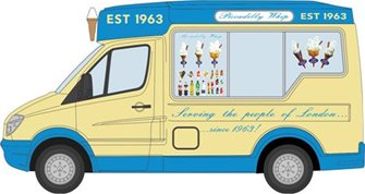 Whitby Mondial Ice Cream Van Piccadilly Whip