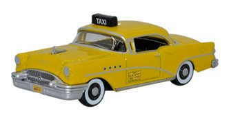 Buick Century 1955 New York Taxi