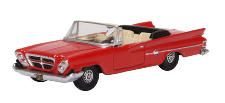 Chrysler 300 Convertible 1961 (Open) Mardi Gras Red