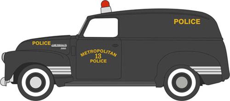 Chevrolet Panel Van 1950 Washington DC Police