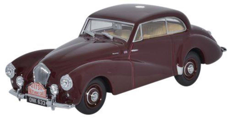 Healey Tickford Maroon Monte Carlo 1953