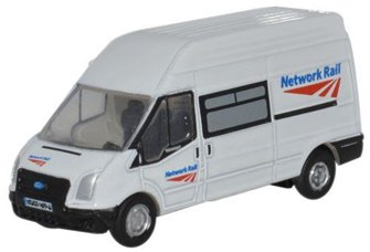 Oxford Diecast NFT005 Network Rail Ford Transit Van
