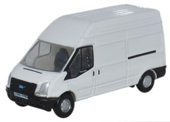 Ford White Transit Van LWB High