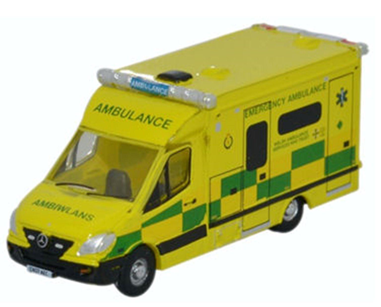 Mercedes Ambulance Wales