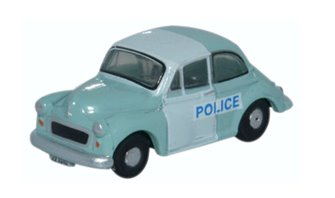 Morris Minor Saloon Police Panda