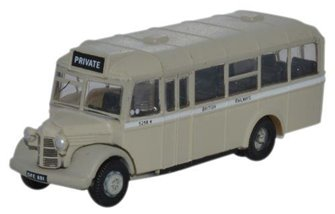 Oxford Diecast NOWB006 Bedford OWB British Railways
