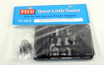 O-16.5 Scale Plastic Wagon Chassis