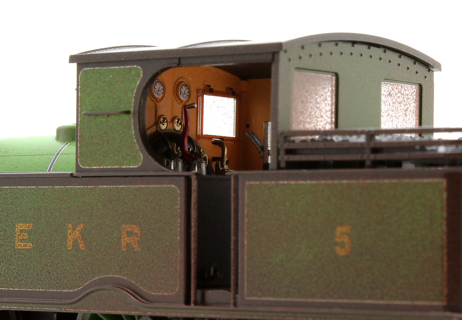 Adams Radial Steam Loco - East Kent Railway Weathered