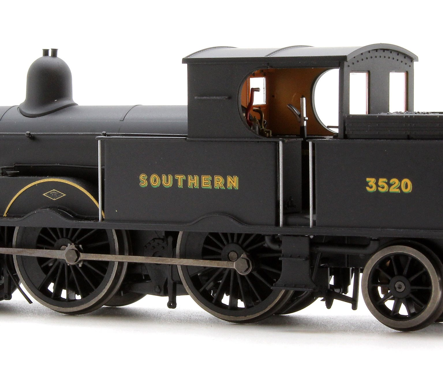 Adams Radial Steam Locomotive number 3520