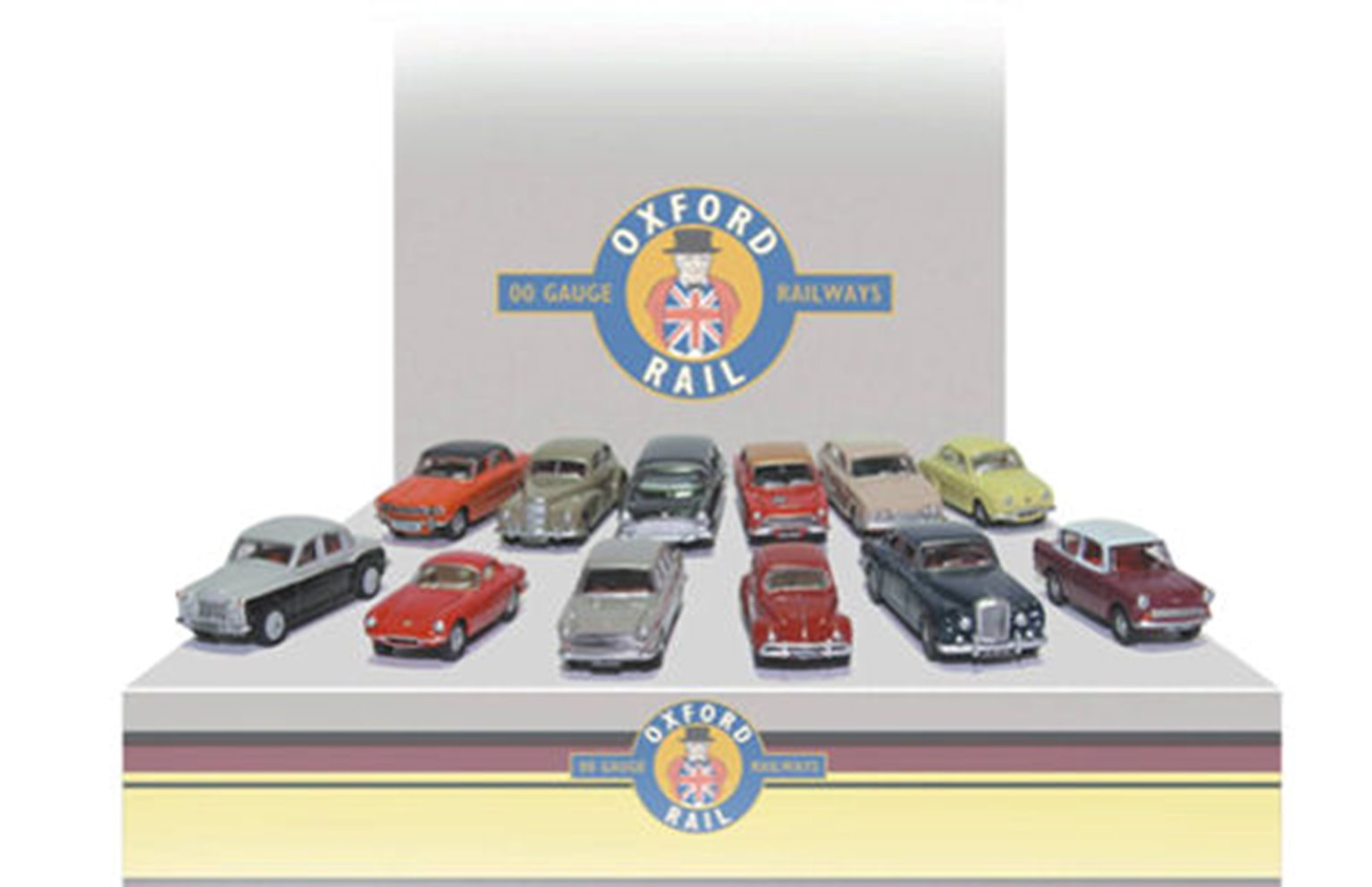 Carflat Car Pack - Assorted 1960s Cars (4)