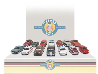 Carflat Car Pack - Assorted 1970s Cars (4)