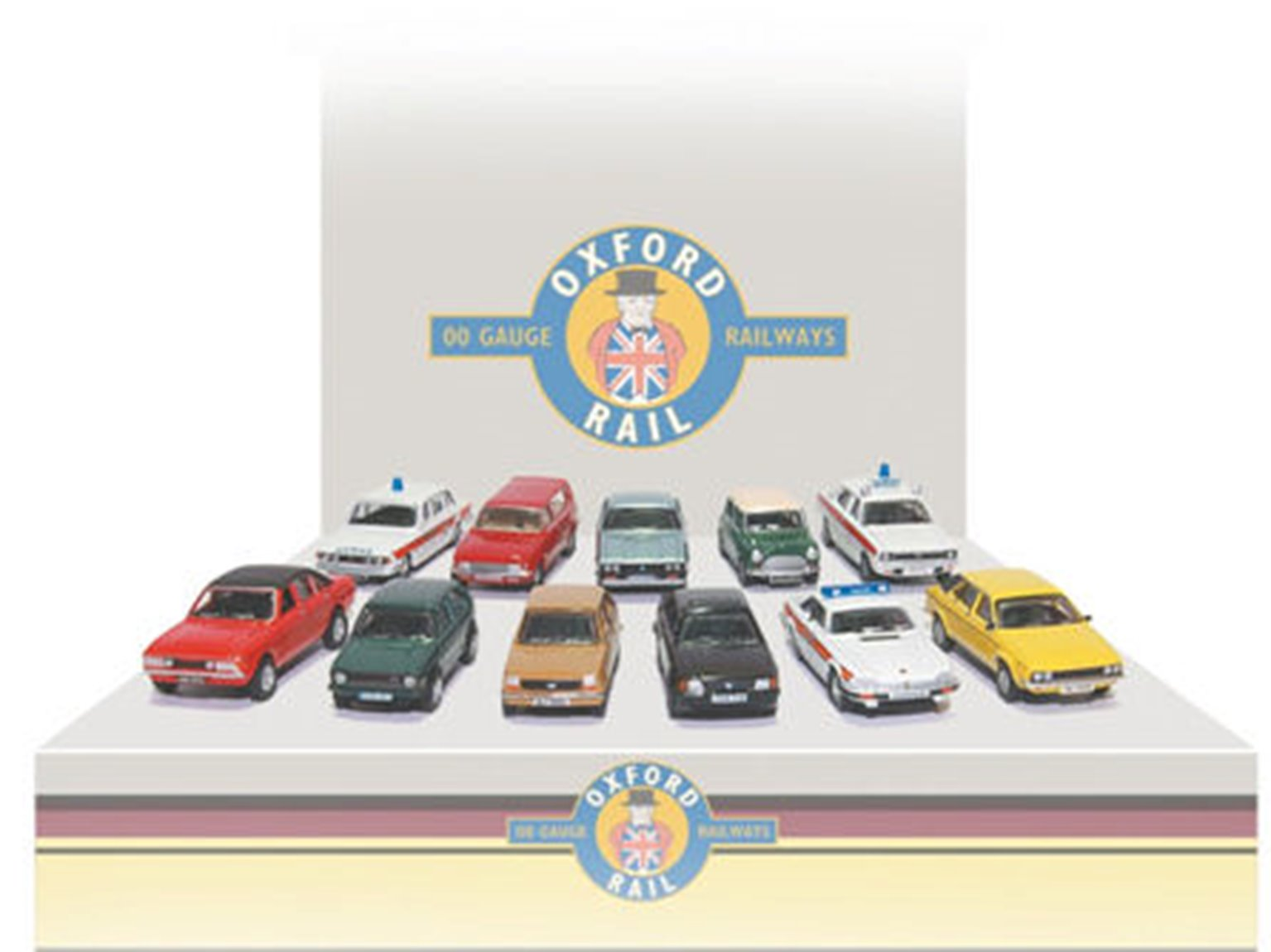 Carflat Car Pack - Assorted 1980s Cars (4)
