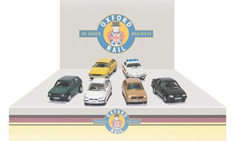 Carflat Car Pack - Assorted 1990s Cars (4)