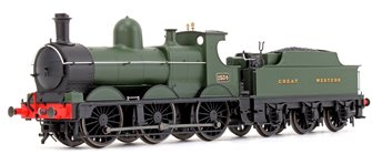 GWR Green 0-6-0 Dean Goods Locomotive No.2534 (Snowplough Removed)
