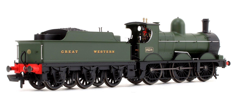 GWR Green 0-6-0 Dean Goods Locomotive No.2534 (Snowplough Removed)