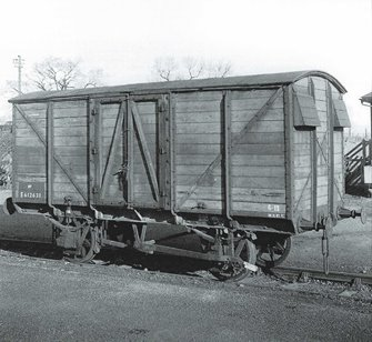 Great Eastern GER 10T Covered Van No 23109