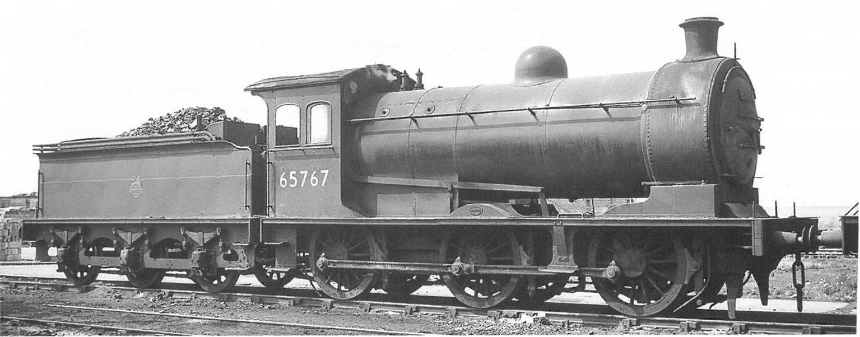 Class J26 BR Black (Late) 0-6-0 Steam Locomotive No.65736