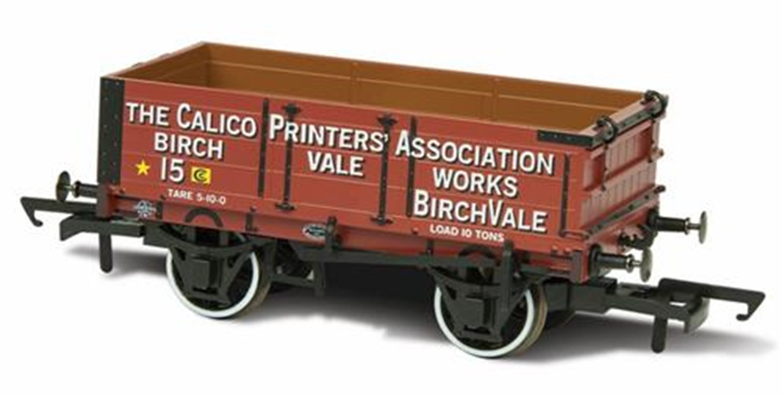 4 Plank Mineral Wagon - Calico Printers Assn 15