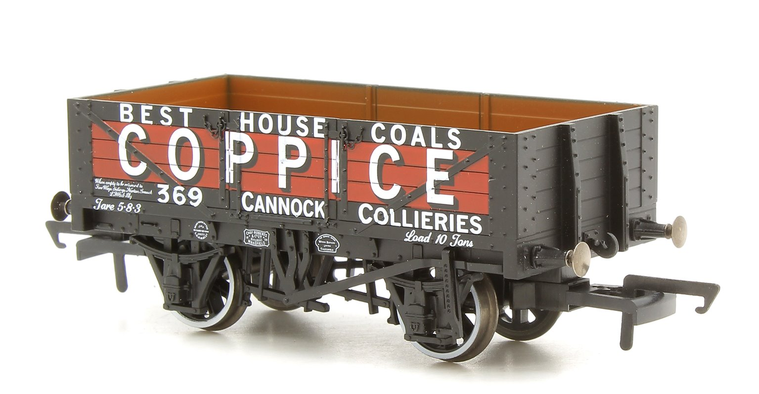 5 Plank Mineral Wagon - Coppice Cannock Chase No.369