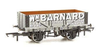 5 Plank Mineral Wagon - Wm Barnard Worcester No.23