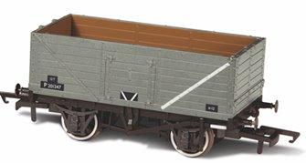 7 Plank Mineral Wagon - BR Grey P73162