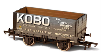 Weathered 7 plank Wagon Kobo